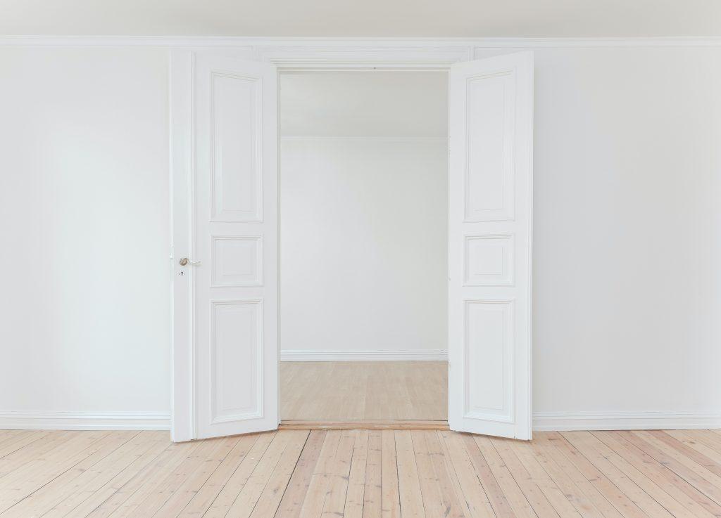 una casa minimalista